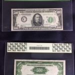 $500 bill from 1934