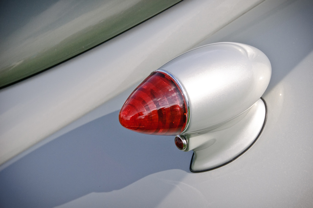 1937 Lincoln Zephyr Coupe tail light